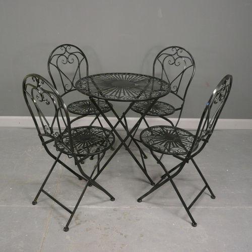 salon de jardin en fer forg chaise en fer forg