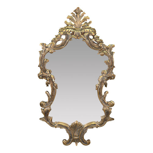 Miroirs miroir louis xv console louis xv en bois dor for Miroir baroque dore